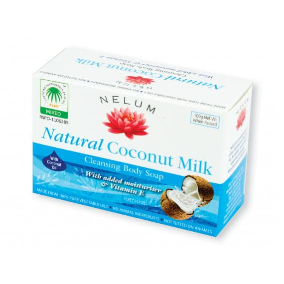 Nelum Natural Soap Bar Coconut 100g