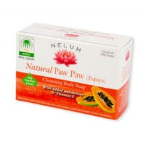 Nelum Natural Soap Bar Paw Paw 100g