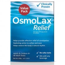 OsmoLax Relief Macrogol Osmotic Laxative Powder 49 Doses 833g