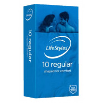 LifeStyles Regular Condoms 10 Pack