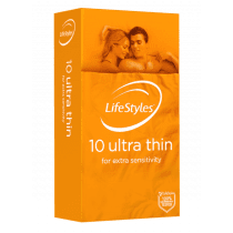 LifeStyles Ultra Thin Condoms 10 Pack