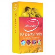 LifeStyles Party Mix Condoms 10 Pack