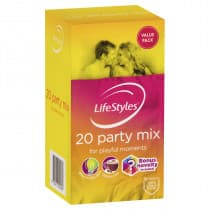 LifeStyles Party Mix Condoms 20 Pack