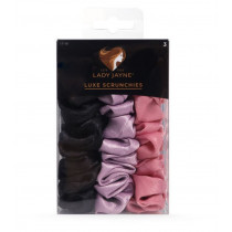 Lady Jayne Luxe Scrunchies Large 3 Pack