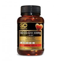 Go Healthy Go Co-Q10 300mg 1-A-Day 30 Capsules