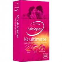LifeStyles Ultimate Condoms 10 Pack