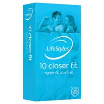 LifeStyles Closer Fit Condoms 10 Pack