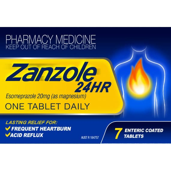 Zanzole 24HR 20mg 7 Tablets
