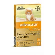 Advocate For Small Cats under 4kg 3 Pack