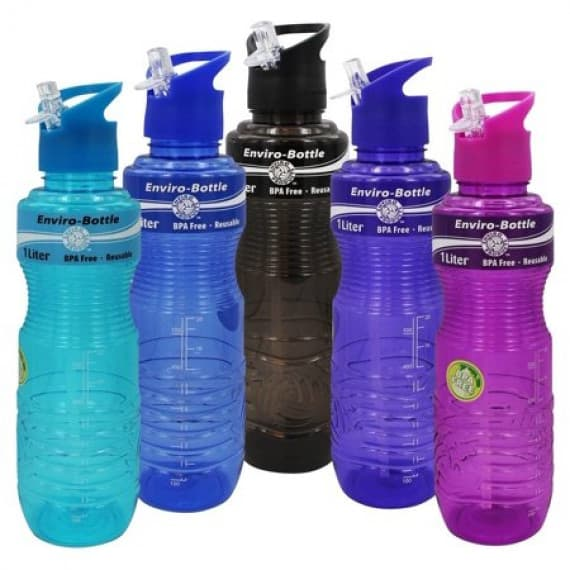 Enviro Products Drink Bottle With Straw 1 Litre 1 Pack