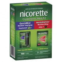 Nicorette Combo Value Kit