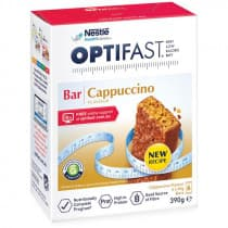 Optifast VLCD Bar Cappuccino Flavour 6 x 65g
