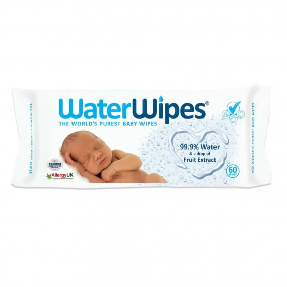 WaterWipes Baby Wipes 60 Wipes