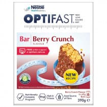 Optifast VLCD Bar Berry Crunch Flavour 6 x 65g