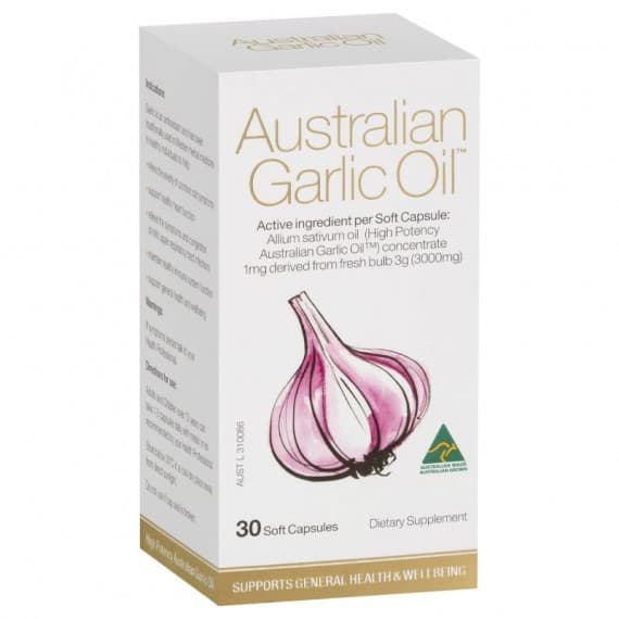 Australian Garlic Oil 30 Capsules