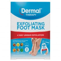 Dermal Therapy Exfoliating Foot Mask 1 Pair