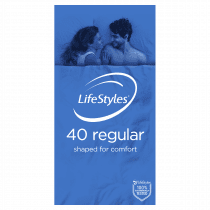 LifeStyles Regular Condoms 40 Pack