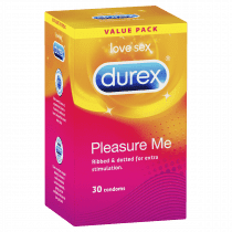 Durex Pleasure Me Condom 30 Pack