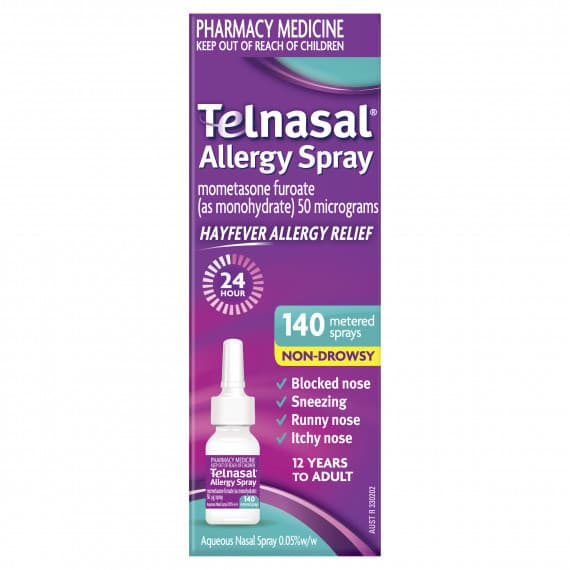 Telnasal Allergy Spray 140 Dose