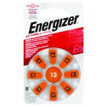 Energizer H/Aid EZ Lock+Turn 13 8 Pack