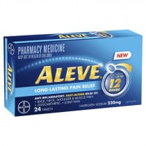Aleve 12 Hour 220mg 24 Tablets