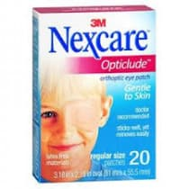Nexcare Opticlude Orthoptic Eye Patch Regular 20 Pack
