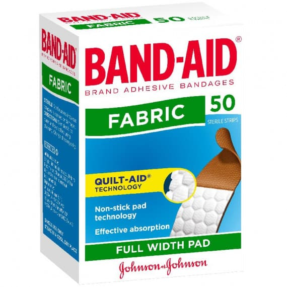 Band-Aid Fabric 50 Pack