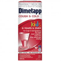 Dimetapp Cough And Cold Dm Elixir 200ml RED