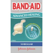 Band-Aid Advanced Healing Regular 10 Pack