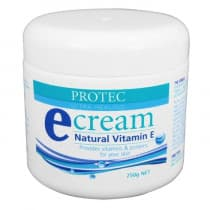 Protec Ultra Healing Natural Vitamin E Cream 250g