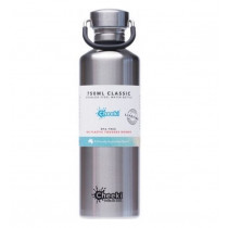 Cheeki Classic Stainless Steel Bottle Silver 750ml