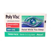 Poly Visc Eye Ointment 3.5g X 2 Twinpack