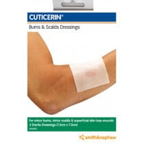 Cuticerin Burn & Scalds Dressing 3 Pack