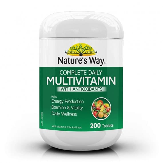 Natures Way Complete Daily Multivitamin 200 Tablets