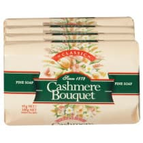 Cashmere Bouquet Soap 4 Pack Classic