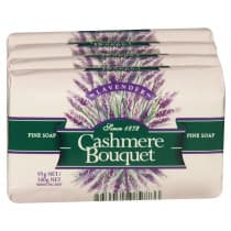 Cashmere Bouquet Soap 4 Pack Lavender