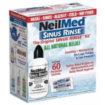 Neilmed Sinus Rinse 240ml and 60 Sachets