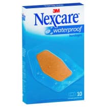 Nexcare Waterproof Bandages Large 10 Pack