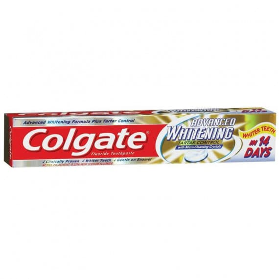 Colgate Advanced Whitening Tartar Control Toothpaste 120g