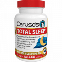 Carusos Total Sleep 30 Tablets