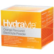 Hydralyte Electrolyte Powder Orange 10 x 4.9g Sachets