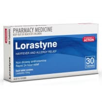 Pharmacy Action Lorastyne 30 Tablets