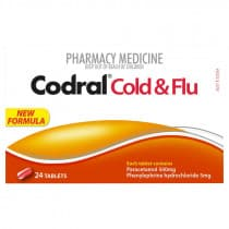 Codral PE Cold & Flu 24 Tablets