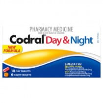 Codral PE Cold & Flu Day & Night 24 Tablets