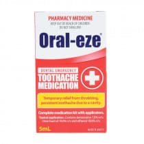 Oral Eze Toothache Medication 5ml