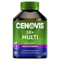 Cenovis 50+ Multi Once Daily 100 Capsules