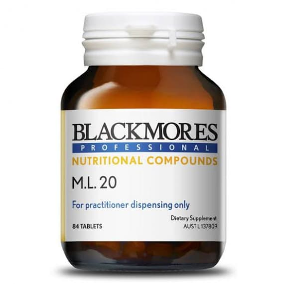 Blackmores Professional M.L.20 84 Tablets