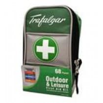 Trafalgar First Aid Outdoor & Leisure Kit 68 Pieces