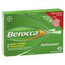 Berocca Performance Original Berry 45 Effervescent Tablets