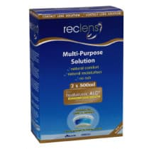 Reclens Mps 2 x 500ml + Lens Case